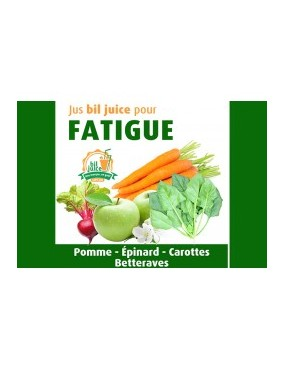 Jus bil juice pour fatigue