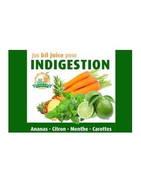 Jus bil juice pour indigestion