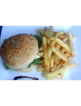 Hamburger + frite SHALOM