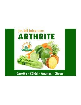 Jus bil juice pour arthrite