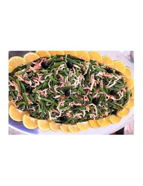 Salade d'haricot vert au...