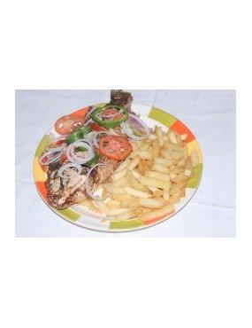 Frites + poisson