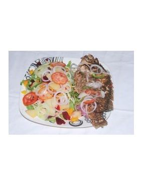 Salade plus poisson