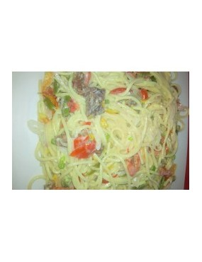 Spaguetti blanc