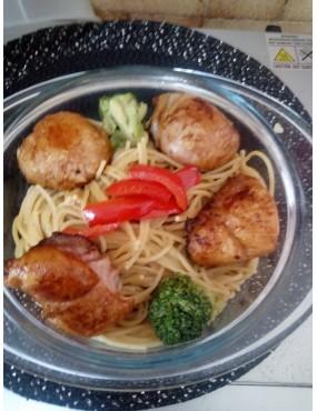 Spaguetti aux poulet
