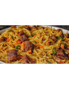 Spaguetti viande de Boeuf
