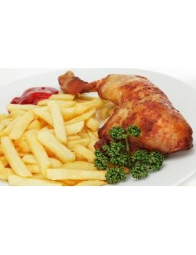 Frite au Poulet/Poisson