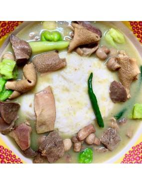 Fufu sauce claire