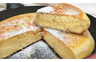 Faire des gâteaux à la maison juste avec une poêle